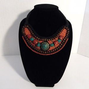 Bajalia  Necklace Tibetan Collar